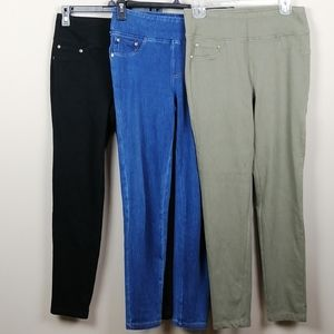 Lot of 3 DG2 jeggings/leggings